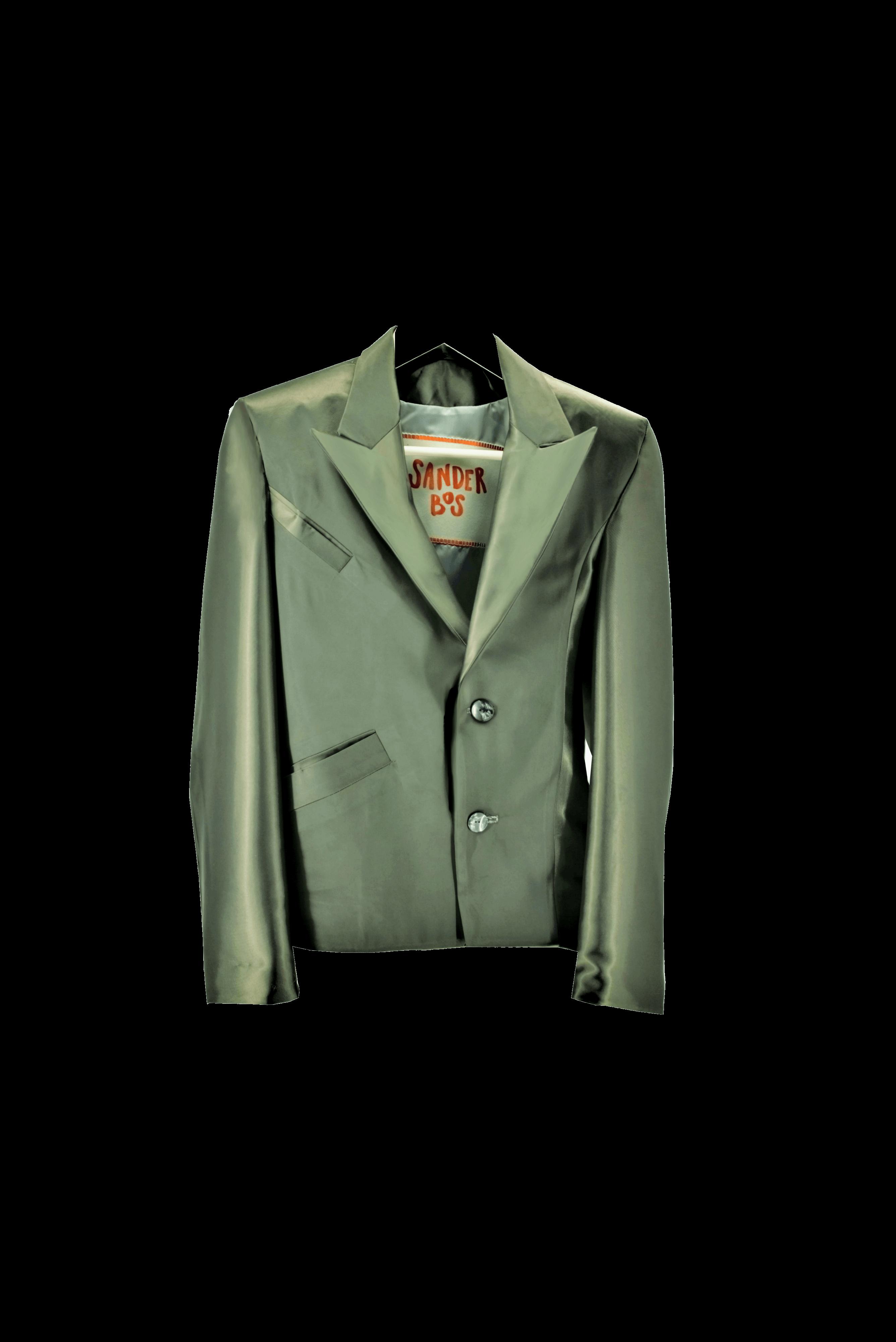 Assymetrical blazer W