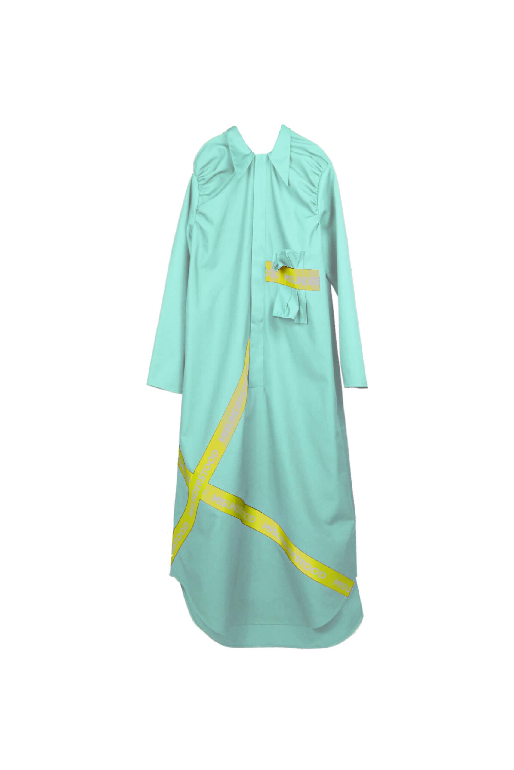 front dress blue