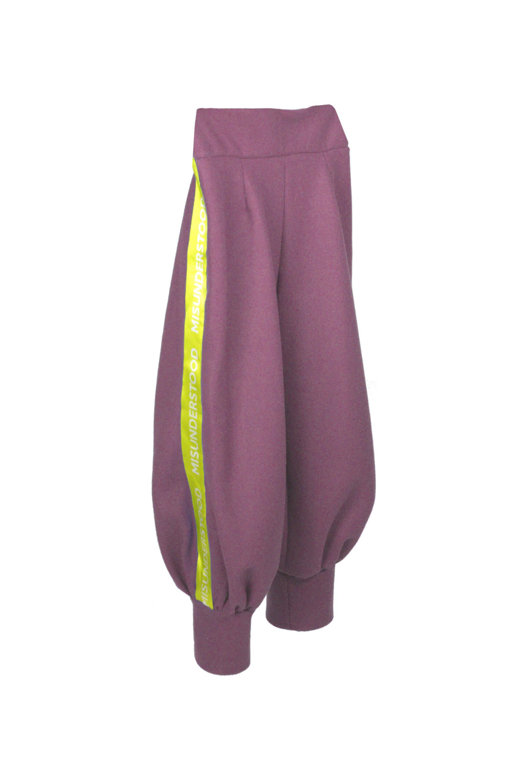 front sweat pants lila
