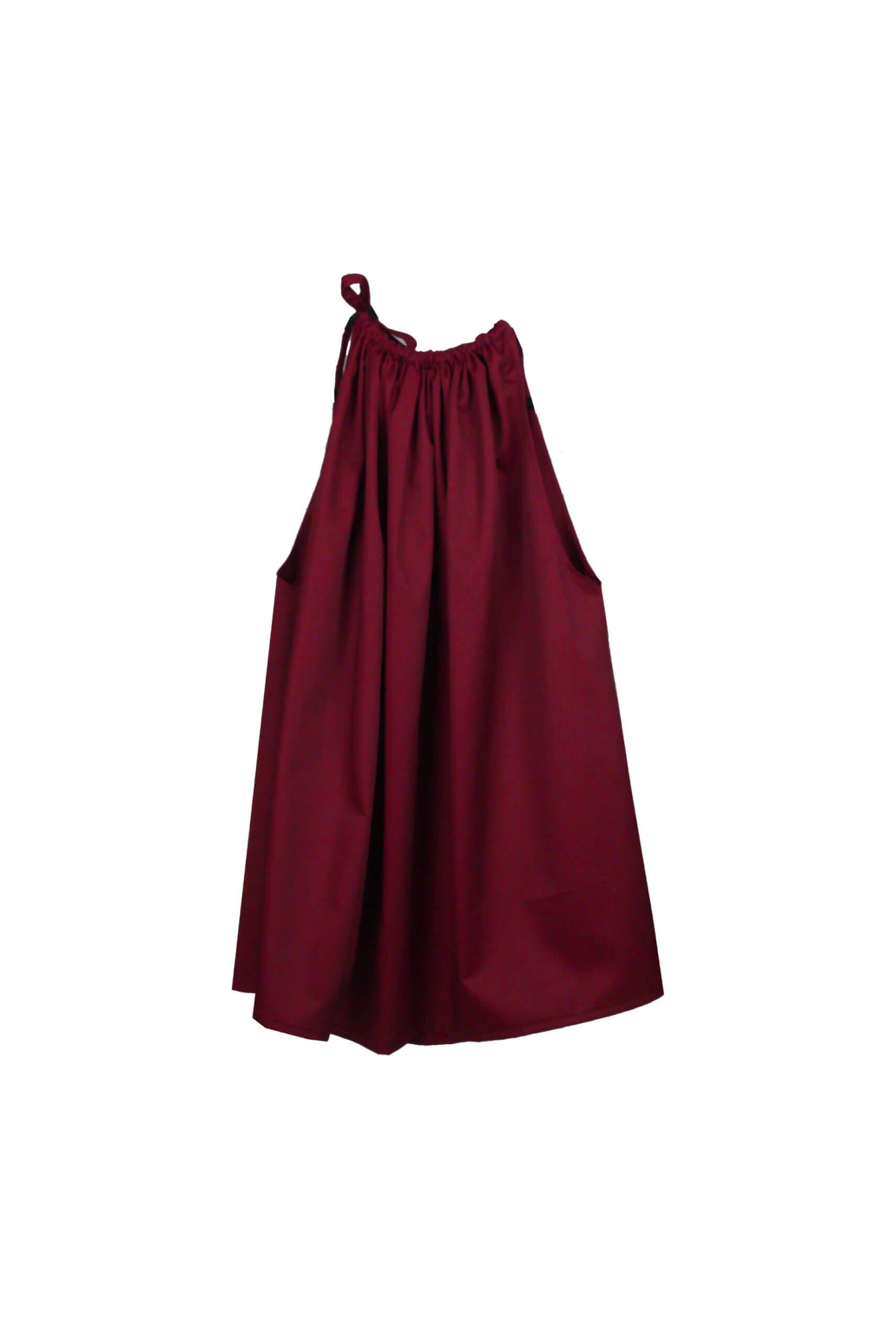 front wrinkle dress burg